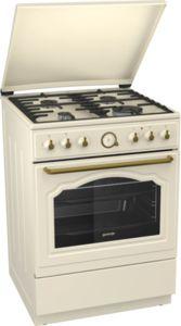 Комбинирана печка Gorenje K62CLI, Клас А, Обем на фурната 65 л